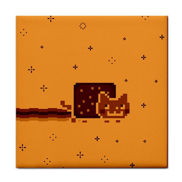 Nyan Cat Vintage Face Towel