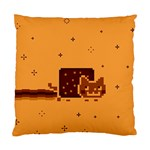 Nyan Cat Vintage Standard Cushion Case (Two Sides) Back