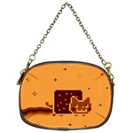 Nyan Cat Vintage Chain Purses (Two Sides)  Back