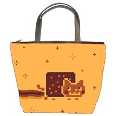 Nyan Cat Vintage Bucket Bags