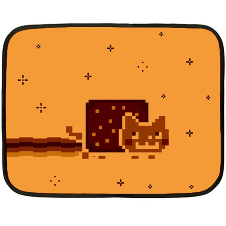 Nyan Cat Vintage Double Sided Fleece Blanket (Mini)