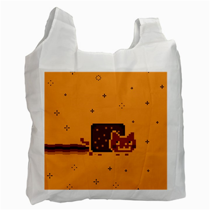 Nyan Cat Vintage Recycle Bag (One Side)