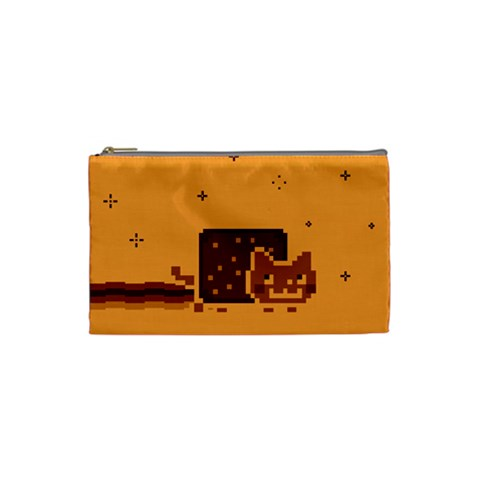 Nyan Cat Vintage Cosmetic Bag (Small)