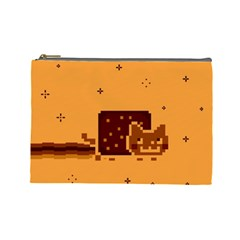 Nyan Cat Vintage Cosmetic Bag (large)