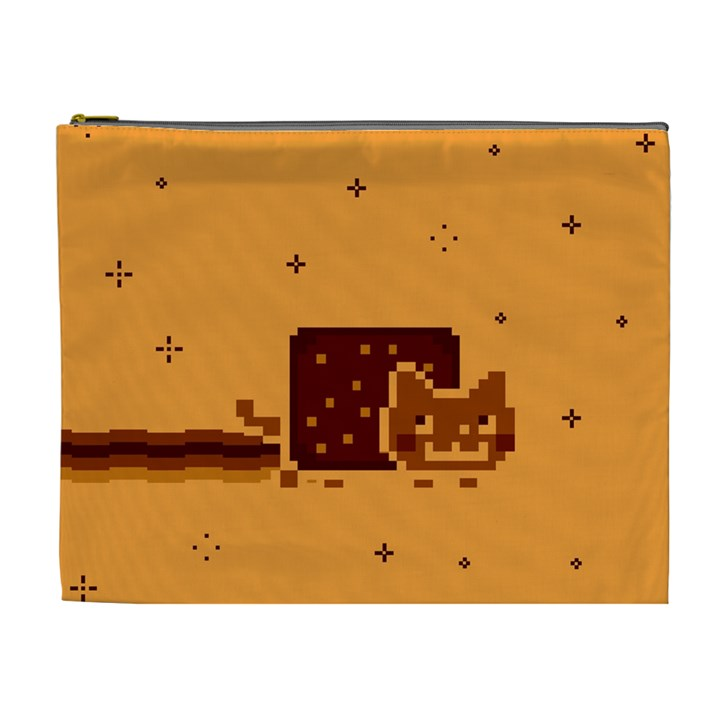 Nyan Cat Vintage Cosmetic Bag (XL)