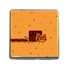 Nyan Cat Vintage Memory Card Reader (Square)