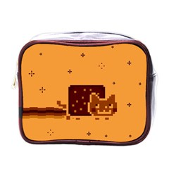 Nyan Cat Vintage Mini Toiletries Bags