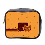 Nyan Cat Vintage Mini Toiletries Bag 2-Side Front