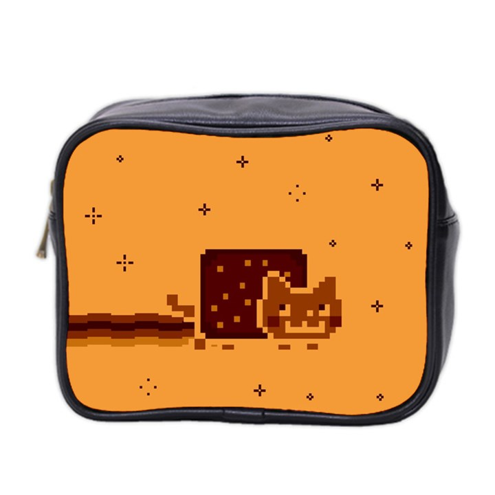 Nyan Cat Vintage Mini Toiletries Bag 2-Side