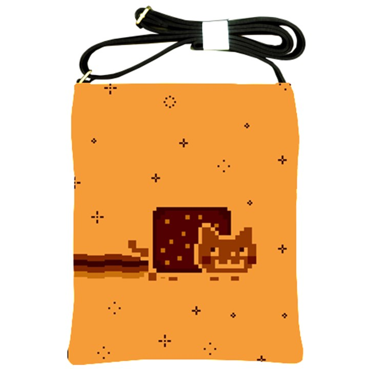 Nyan Cat Vintage Shoulder Sling Bags