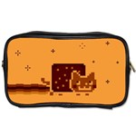 Nyan Cat Vintage Toiletries Bags Front