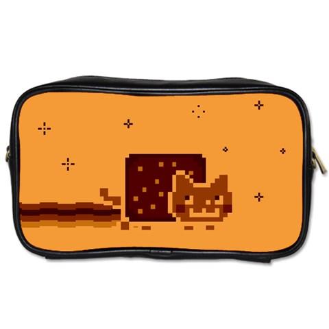 Nyan Cat Vintage Toiletries Bags 2-Side