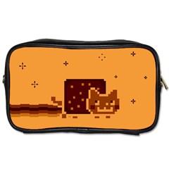 Nyan Cat Vintage Toiletries Bags 2 Side
