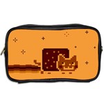 Nyan Cat Vintage Toiletries Bags 2-Side Back