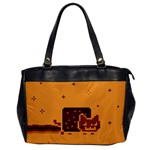 Nyan Cat Vintage Office Handbags Front