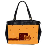 Nyan Cat Vintage Office Handbags (2 Sides)  Front