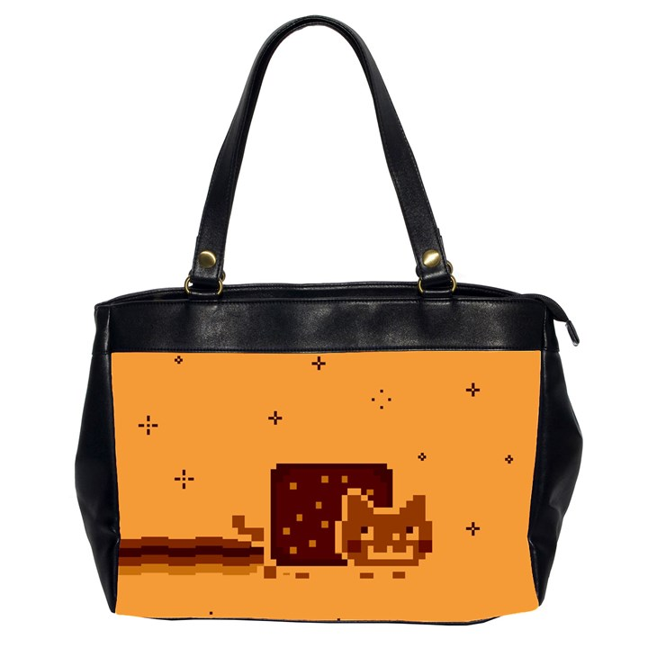 Nyan Cat Vintage Office Handbags (2 Sides)