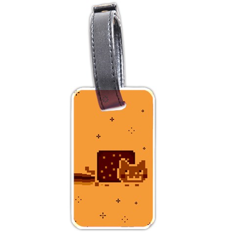 Nyan Cat Vintage Luggage Tags (One Side)