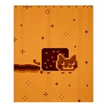 Nyan Cat Vintage Shower Curtain 60  x 72  (Medium)  54.25 x65.71 Curtain