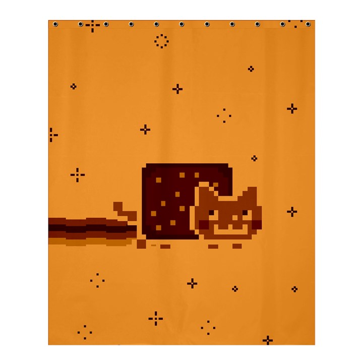 Nyan Cat Vintage Shower Curtain 60  x 72  (Medium)