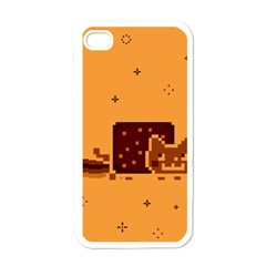 Nyan Cat Vintage Apple Iphone 4 Case (white)