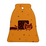 Nyan Cat Vintage Ornament (Bell)  Front