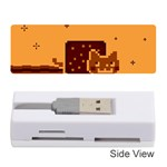 Nyan Cat Vintage Memory Card Reader (Stick)  Front
