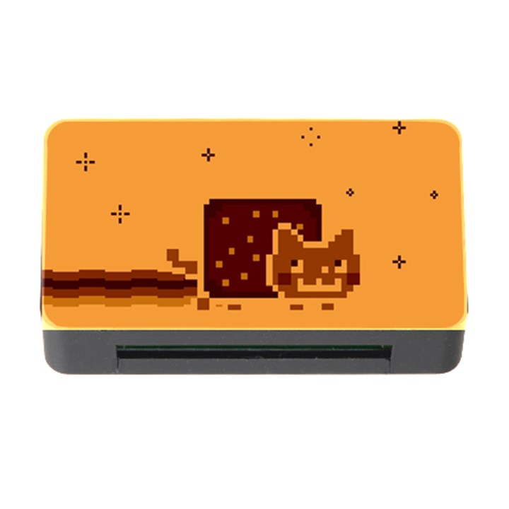 Nyan Cat Vintage Memory Card Reader with CF
