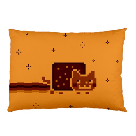 Nyan Cat Vintage Pillow Case (Two Sides)