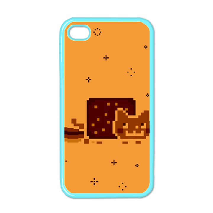 Nyan Cat Vintage Apple iPhone 4 Case (Color)