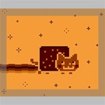 Nyan Cat Vintage Deluxe Canvas 20  x 16   20  x 16  x 1.5  Stretched Canvas