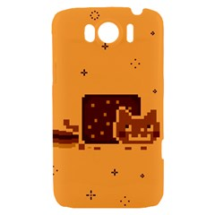 Nyan Cat Vintage HTC Sensation XL Hardshell Case