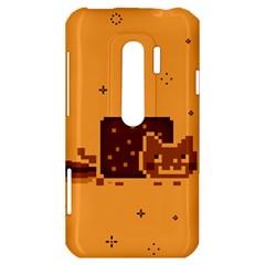 Nyan Cat Vintage HTC Evo 3D Hardshell Case