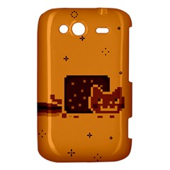 Nyan Cat Vintage HTC Wildfire S A510e Hardshell Case
