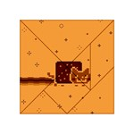 Nyan Cat Vintage Acrylic Tangram Puzzle (4  x 4 ) Front