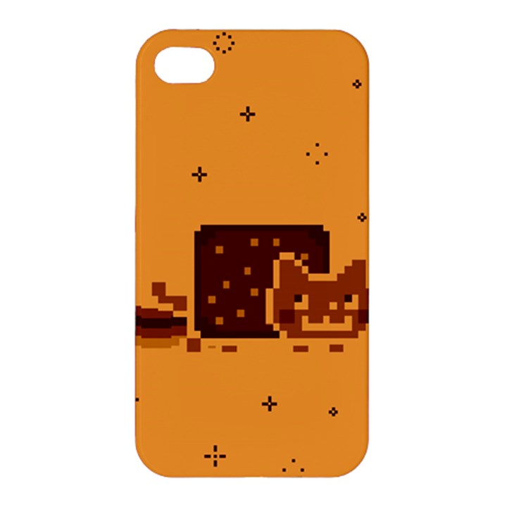 Nyan Cat Vintage Apple iPhone 4/4S Premium Hardshell Case