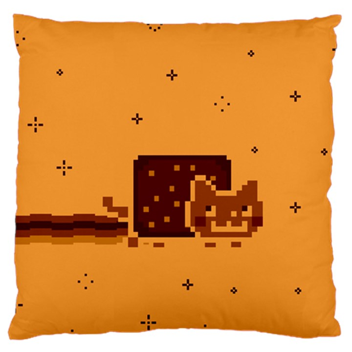 Nyan Cat Vintage Large Cushion Case (Two Sides)