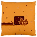 Nyan Cat Vintage Large Cushion Case (Two Sides) Back