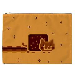Nyan Cat Vintage Cosmetic Bag (XXL)