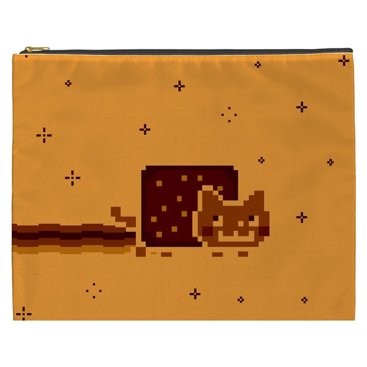 Nyan Cat Vintage Cosmetic Bag (XXXL)