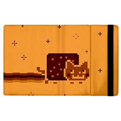 Nyan Cat Vintage Apple iPad 2 Flip Case