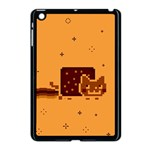 Nyan Cat Vintage Apple iPad Mini Case (Black) Front