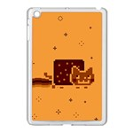 Nyan Cat Vintage Apple iPad Mini Case (White) Front