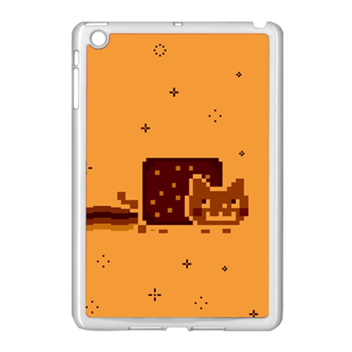 Nyan Cat Vintage Apple iPad Mini Case (White)