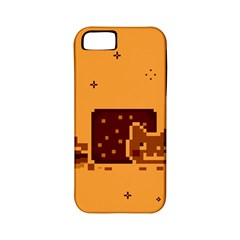 Nyan Cat Vintage Apple Iphone 5 Classic Hardshell Case (pc+silicone)