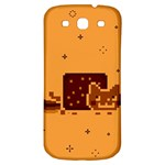 Nyan Cat Vintage Samsung Galaxy S3 S III Classic Hardshell Back Case Front