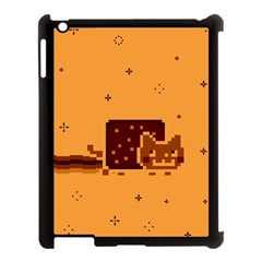 Nyan Cat Vintage Apple iPad 3/4 Case (Black)