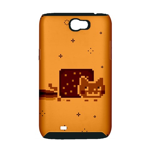Nyan Cat Vintage Samsung Galaxy Note 2 Hardshell Case (PC+Silicone)