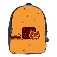 Nyan Cat Vintage School Bags (xl)