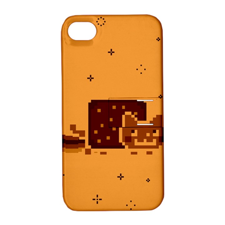 Nyan Cat Vintage Apple iPhone 4/4S Hardshell Case with Stand
